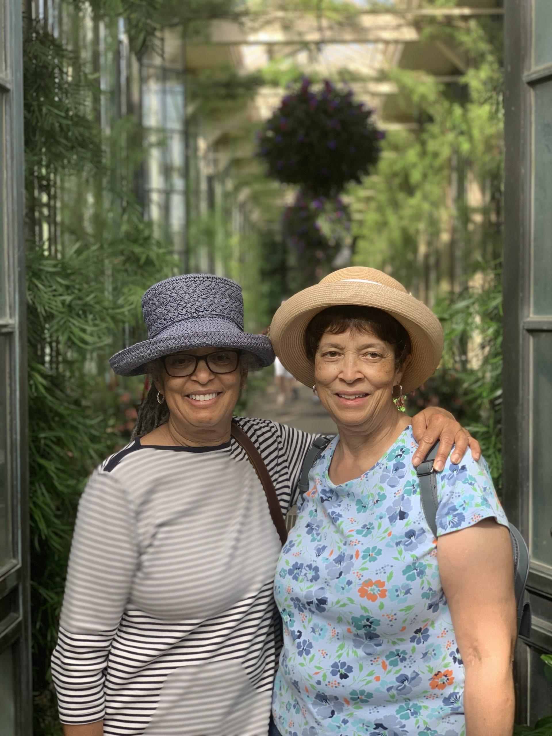 My aunts at the gardens