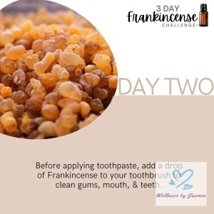 Read about Frankincense and Oral Health